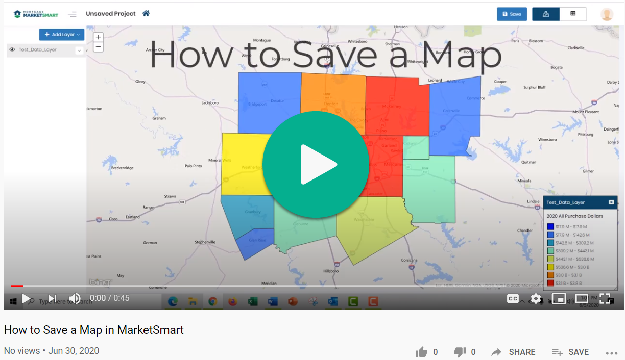 How to Save a Map Video
